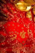 Gong xi fa cai, perinteinen kiinalainen uusi vuosi kohdetta Kuvituskuvat