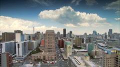 Braamfontein in Johannesburg Stock Footage
