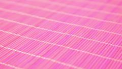 Magenta pink bamboo background Stock Footage