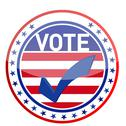 Stock Illustration of united states of america elections pins