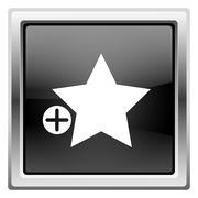 Add to favorites icon Stock Illustration