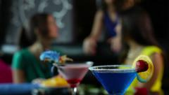 Cocktail party - stock footage