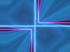 VJ LOOP - Mirrored Laser Squares Stock Footage