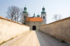 convent of kamedul, cracow,  poland - stock photo