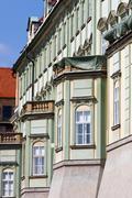 Castle district of prague, czech republic Stock Photos