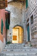 Stock Photo of architecture of rovinj, croatia. istria touristic attraction