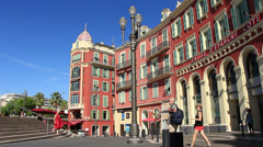 Nice in south France (55) - stock footage