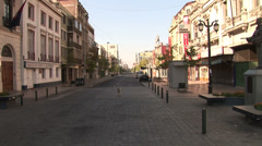 CHILE - CIRCA 2007: City view in Santiago, Chile - stock footage