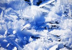 Blue Cold Ice Sheet Background Texture Stock Photos