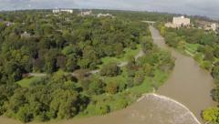 Humber River 03, Toronto, Ontario, Canada Stock Footage