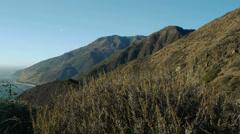 Santa Lucia Mountains Stock Footage