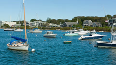 Boats - Cape Cod Stock Footage