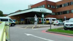 NHS Stafford Hospital Stock Footage