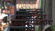 Stock Video Footage of ARGENTINA - CIRCA 2007: Streets of Caminito in La Boca, Argentina