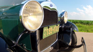 Stock Video Footage of Ford Model A 1929 BumperMount