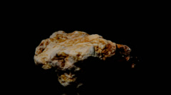 Fast revolving asteroid Stock Footage
