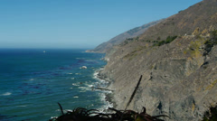 Ragged Point Big Sur Stock Footage