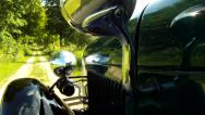 Stock Video Footage of Ford Model A 1929 POV EX Country