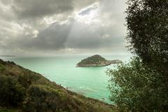 little island 2 - stock photo