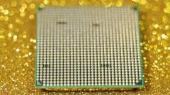 CPU - stock footage