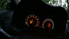 Dashboard Stock Footage