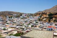 Stock Photo of lindos, rhodes, greece