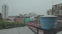 Manaus-Lightening-Storm-Weather-Rain-Location Stock Footage