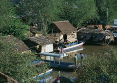 Lake Tonle Sap Stock Photos