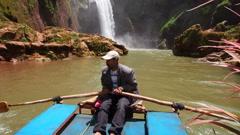 Ouzoud Waterfalls, Morocco Stock Footage