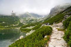 tatra mountains - stock photo