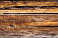 Brown wooden board - stock photo