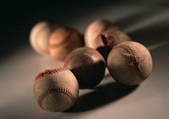 Ball of Hardball Baseball Stock Photos