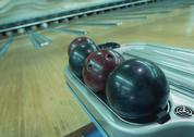 Stock Photo of Bowling Alley