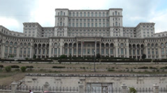 Palace of the Parliament Stock Footage
