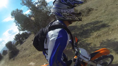 Sport Motocross exciting racing exciting tough adventure extreme sports off road Stock Footage