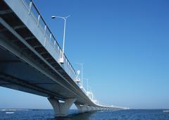 Tokyo Bay Aqua-Line - stock photo
