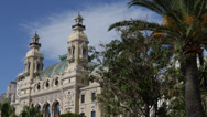Stock Video Footage of Monte Carlo Casino gamble, gambling, luxury, rich, expensive, money, palm tree