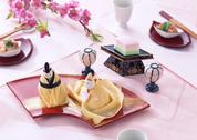 Stock Photo of Sushi for the Doll Festival