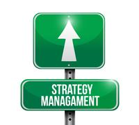 strategy management - stock illustration