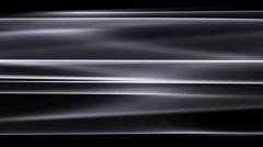 Metallic Waves 08 - Silver - Loop - stock footage