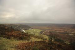Hole of horcum Stock Photos