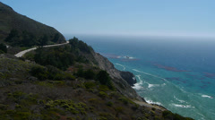 Highway One Big Sur Stock Footage