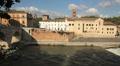 Tiber Island, Rome Footage