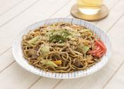 Stock Photo of Fried noodles