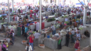 Stock Video Footage of Samarkand bazaar, Uzbekistan