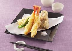 Assorted tempura Stock Photos