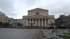 Bolshoi Theatre of Moscow Stock Footage
