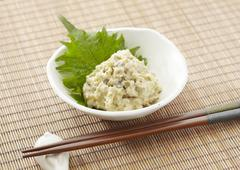 Pickled wasabi Stock Photos