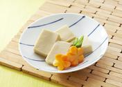 Stock Photo of Koya dofu, freeze dried tofu