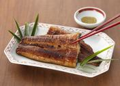 Stock Photo of Broiled eel dipped in a sweet soy sauce-base sauce